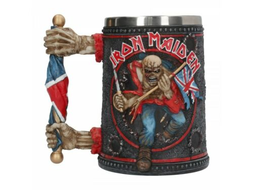 IRON MAIDEN TROOPER TANKARD Offically Licensed 14cm Cup Mug Eddie BNIB FREE P+P