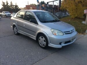 2003 Toyota Echo AUTO,ONLY 158KM,SAFETY+3YEARS WARRANTY INCLUDED