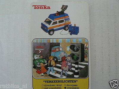 TONKA VERKEERSLICHTEN D TV5 VAN  KWARTET KAART, QUARTETT CARD,SPIELKARTE