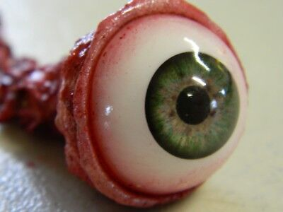 HALLOWEEN HORROR Movie PROP RIPPED OUT EYEBALL Green!