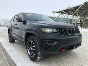 2018 Jeep Grand Cherokee Trailhawk  - Leather Seats