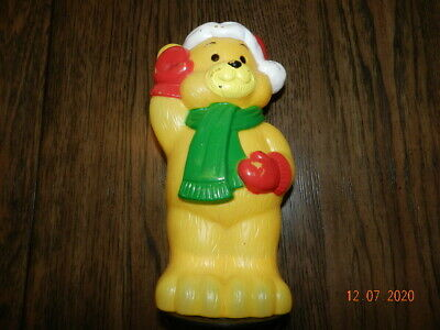 VTG Christmas Bear TORO Empire Outdoor Pathway Yard Blow Mold Light Topper