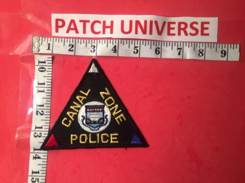 CANAL ZONE POLICE  SHOULDER PATCH  H051