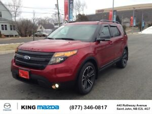 2015 Ford Explorer SPORT!  $244 B/W 7 PASS...NEW TIRES...AWD..HE