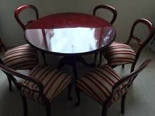 Classic Mahogany dining suite (6 chairs + table) value $1000+ Darling Point Eastern Suburbs Preview