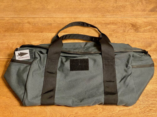 NEW w/TAGS •DISCONTINUED •GORUCK 32L Kit Bag (Pipehitter Steel) • MADE IN USA