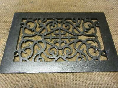 Vintage Cast Iron Register Grate > Antique Old Hardware Architectural 2938