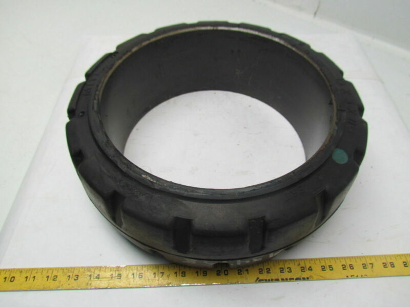 "MITL 15""x5""x11-1/4"" Press On Solid Rubber Traction Forklift Tire Wheel"