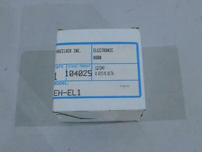 Wheelock Eh-el1 Fire Alarm Electric Horn 1224v -19