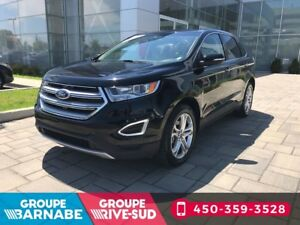 2017 Ford Edge TITANIUM 3.5L AWD CUIR NAVIGATION FULL EQUIP