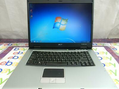 "Acer TravelMate 4230 15.4"" Intel C2D 1.67Ghz 2GB Mem 120GB HDD DVD+-RW Complete"