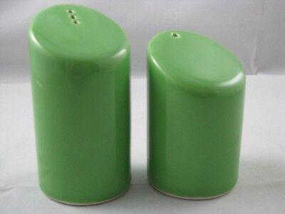 Green Apple Salt & Pepper Shakers New Waechtersbach German Stoneware Waechtersbach Green Apple