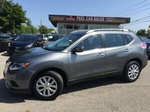 2014 Nissan Rogue 2014 NISSAN ROGUE|106K|REAR VIEW|GUN ON BLACK|