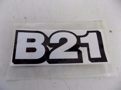 Kubota B21 Label For Tl421 Loader Bt75a Backhoe Attachments Part75583-58470