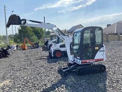 2013 Bobcat 324m Mini Excavator With -only 904 Hours - Excellent Condition -