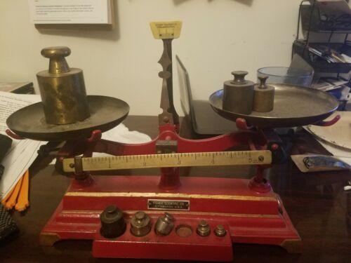 Fisher Scientific Antique Scale