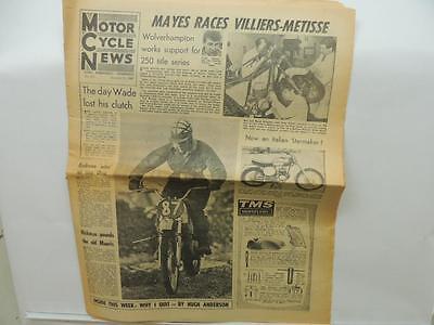 Jan 11 1967 Motor Cycle News Newspaper Yamaha Honda Bultaco Greeves AJS L11607