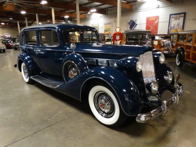 Packard 1937 packard super eight model 1012 formal sedan california car