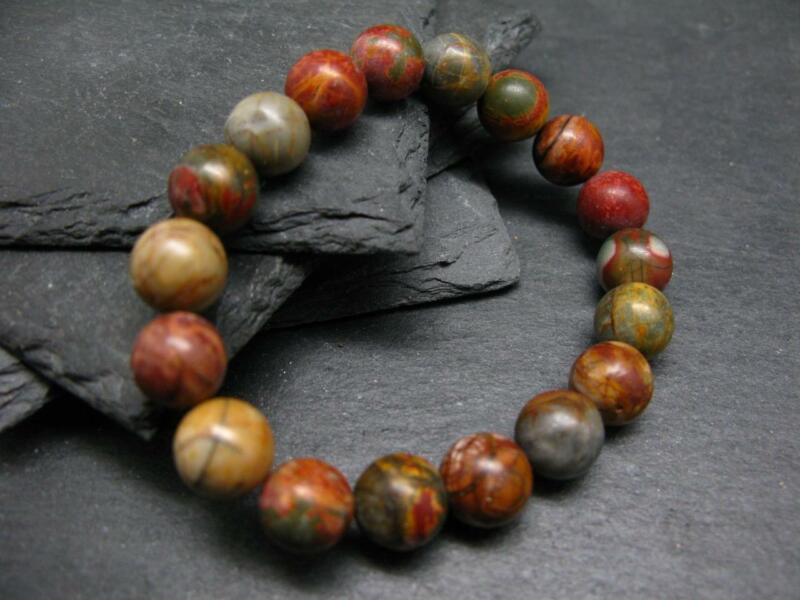 Revelation Stone Genuine Bracelet ~ 7 Inches  ~ 10mm Round Beads