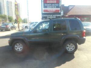 2003 Jeep Liberty SPORT/ LOW KM / CLEAN / 4X4/ AC/
