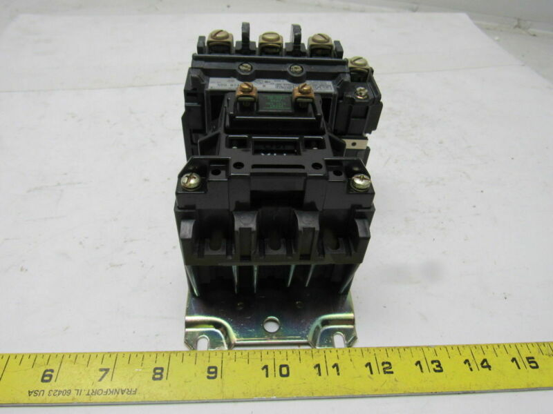 A-B Allen Bradley 500-B0A94 Series  B AC Contactor 230-240V Coil 50/60 HZ Size 1