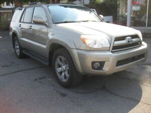2006 Toyota 4Runner Limited 4.7L V8 4x4 AC Sunroof htd leather P