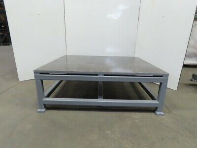 1-14 Thick Top Steel Fabrication Layout Welding Table Work Bench 72x60x25