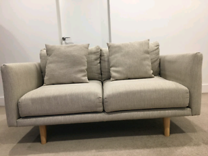 Near New 2 Seater Sofa Melbourne CBD Melbourne City Preview