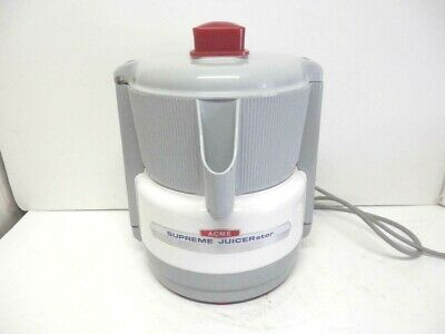 ACME 5001SUPREME JUICERerator VEGTABLE JUICER CLEAN WORKS PERFECT