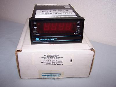 Newport Q2001-oor1 Digitalpanel Meter Controller New In Box