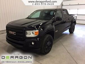 2017 GMC Canyon ALL-TERRAIN + BLACK/BLACK + MAGS HD + CUIR