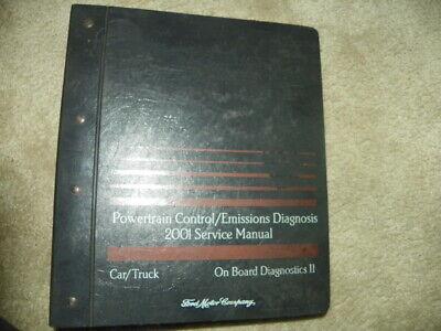2001 Ford Powertrain Control Emissions Diagnosis Service Manual Diagnosis II