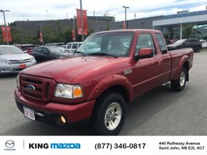 2010 Ford Ranger XL Low Kms..Auto..Jump Seats..Alloy Wheels.....