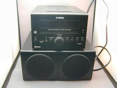 Yamaha MCR-B142 Black Micro Component System Speakers Bluetooth Wireless (Black Micro Component System)
