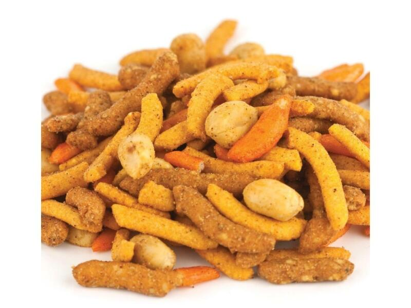 2 FULL pounds  Louisiana Cajun™ SPICY Snack Mix BULK Free Ship Great Snack