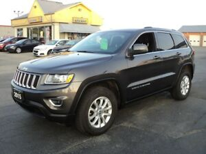 2015 Jeep Grand Cherokee Laredo 4X4 3.6L GPS  Nav Bluetooth