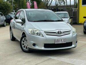 2010 Toyota Corolla ZRE152R MY10 Ascent Silver 6 Speed Manual Hatchback South Toowoomba Toowoomba City Preview