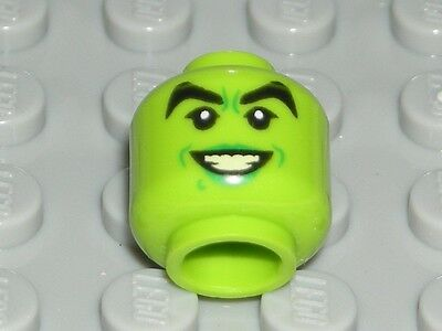 Witch Teeth (LEGO Lime Head Female Green Lips Teeth Wicked Witch Minifigure)