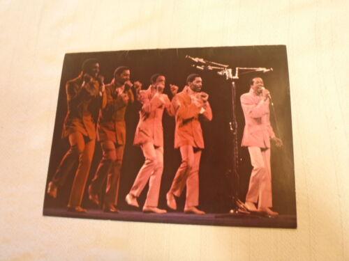 THE TEMPTATIONS 1969 U.S. TOUR CONCERT PROGRAM BOOK BOOKLET / EDDIE KENDRICKS