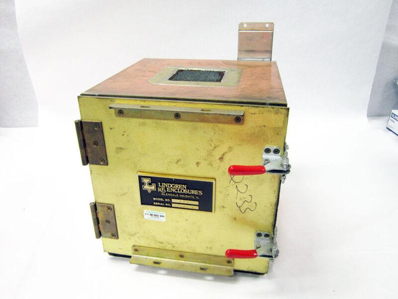 LINDGREN RF ENCLOSURE TT TABLE TOP SHIELDED 10 GHZ RF EMI FILTER