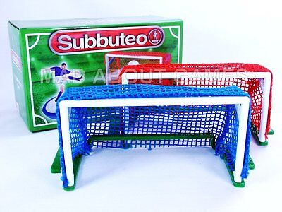 Subbuteo GOALS New Table Football Soccer Set Game Toy Miniature Paul Lamond