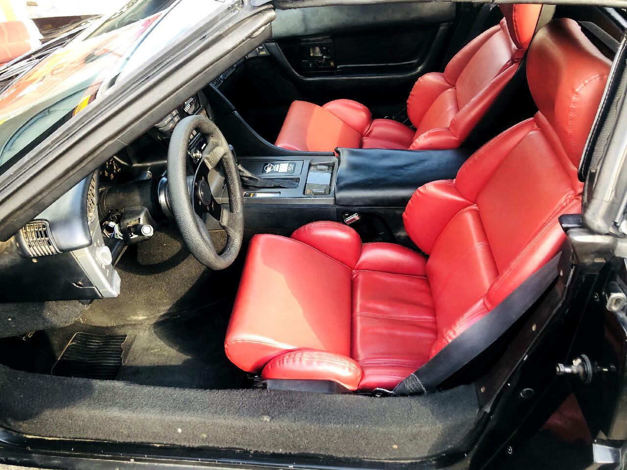 1991 Black Chevrolet Corvette Convertible  | C4 Corvette Photo 6