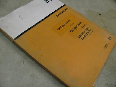 Case 1840 Skid Steer Uni Loader Schematic Sets Manual