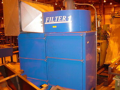 1500 Cfm In-filter Mistdust Collector 2 Hp 230460v 3 Ph 60 Hz