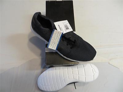 ADIDAS element refine tricot running shoes (M21397) SZ 10.5 BLACK RET $70 NIB
