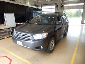 2008 Toyota Highlander SR5 Awesome winter vehicle