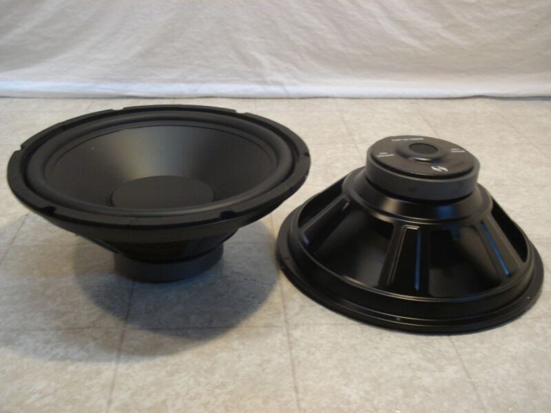 "NEW (2) 12"" Subwoofers Replacement Speakers.4 ohm.twelve inch Woofer pair.Audio"