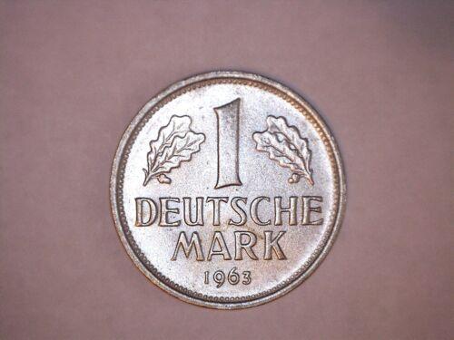 1963-F Germany Mark - Federal Republic