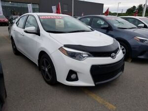 2016 Toyota Corolla S CVT, A/C, SIEGES CHAUF, BLUETOOTH WELL MAI