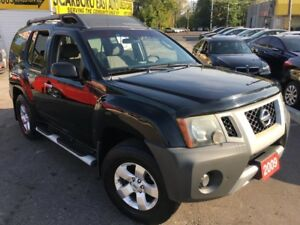 2009 Nissan Xterra S/AUTO/4WD/ALLOYS/ROOF RACKS/CLEAN